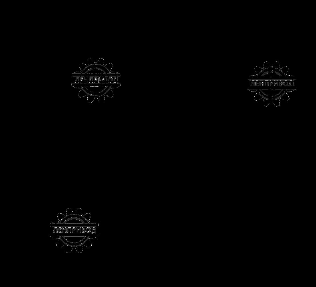 Редуктор 1Ц2У-160 (размеры)