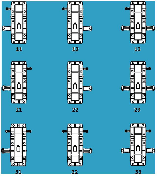 Схемы сборок редуктора РМ-500